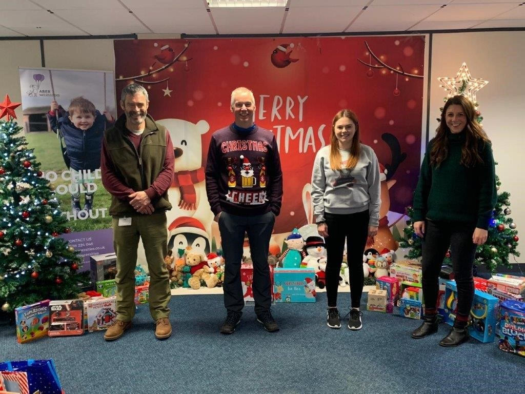 Abernecessities Christmas Box appeal